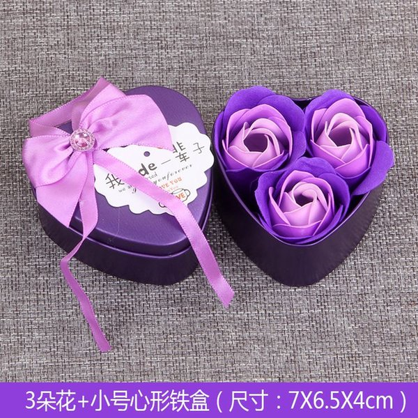 Purple with Iron box