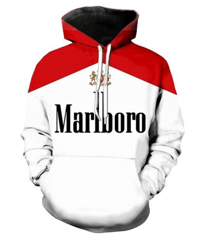 Newest Fashion Cigarette Hoodies Clothing Women/Men Unisex Long Sleeve 3D Printed Pullover Unisex Hipster Sportwear Tops Hip Hop H600
