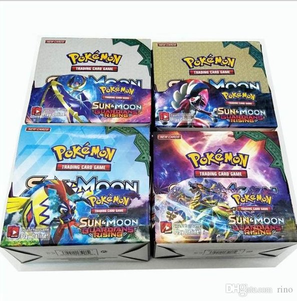 Playing Trading Cards Games Sun & Moon Version English Edition Anime Poket Monsters Cards Kids Toys 324pcs/lot