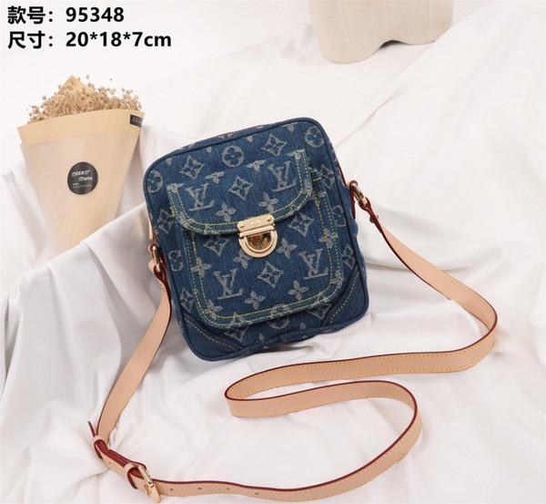 LOU 2019 новые женские сумки на ремне, джинсовая сумка и не важно, как она сочетается с фургоновой сумкой для моды