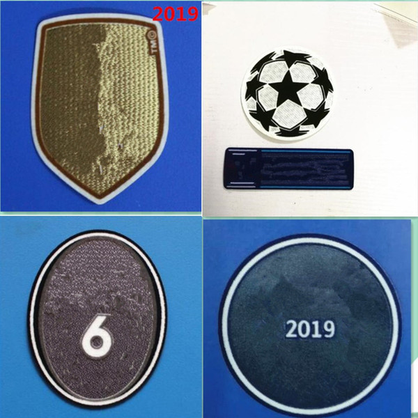 top popular 2019 Club World Cup Football patch Real Madrid shirt patch champions patch badges Soccer Hot stamping 2021