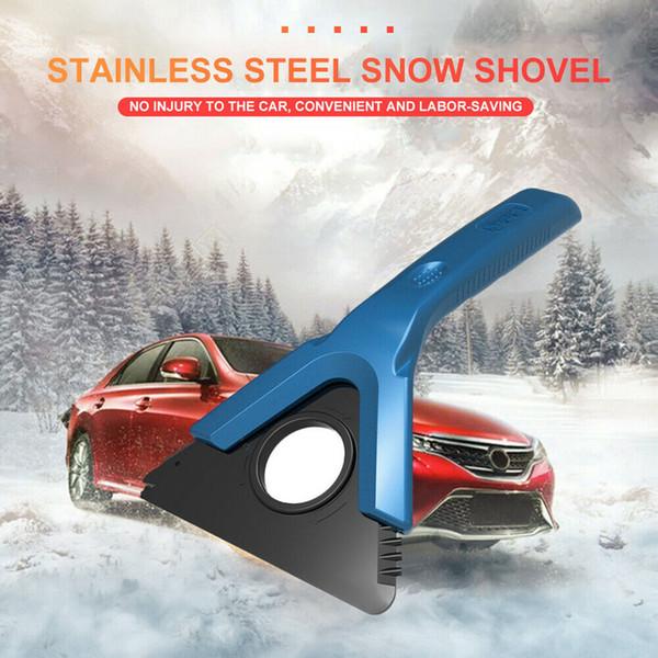 Car la fenêtre Pare-brise-glace Pelle à neige voiture Raclette à neige Pelle à neige Remover Spade déglaçage Nettoyage Grattage #Zer Deicing