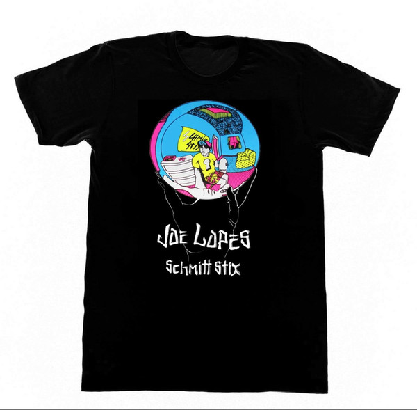 Joe Lopez Schmitt Stix Hemd 71 Tshirt Vintage Skateboard Cruz Hosoi ZorlacFunny kostenloser Versand Unisex Casual Top