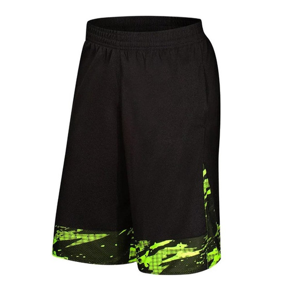 2019 SY Men Basketball Shorts Running Shorts Hiking Tennis Fitness Gym Training Short Quick-dry Loose Beach Sport Short Plus Size