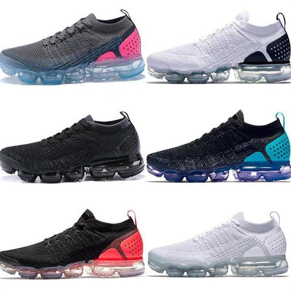 2019 designer rmaxvapo Moc 2 sans lacets 2.0 Casual chaussures Triple Sneakers Sports Air coussin mode luxe hommes femmes sandales designer