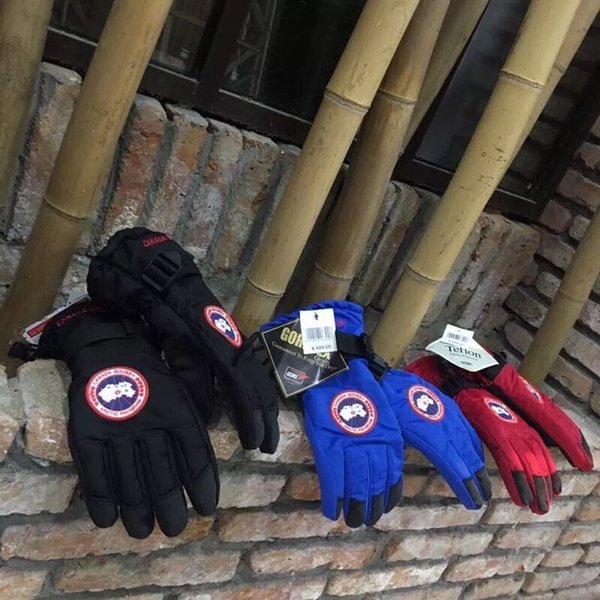 2019 Winter Canada Warm Waterproof Windbreak Skiing Hiking Men Women Unisex Driving Cycling Ride Sport Goose Outdoor Gloves From Jersey Sport201933