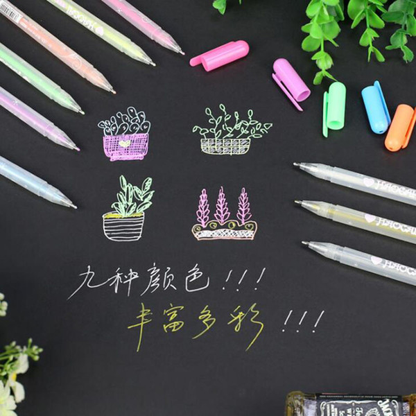 0.8mm High Light Hand-painted Color Pen Art Painting Pen Diy Creative Design Paint Fine Head For Sketch White Paint Mark 1pc
