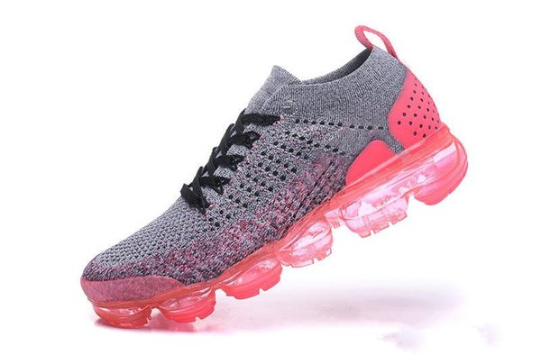 NICE 2018 New 2.0 Running Shoes Black White Air Designer Punch TRIPLE WHITE womens Sneakers Athletic trainers Sports Maxes Chaussures 36-39