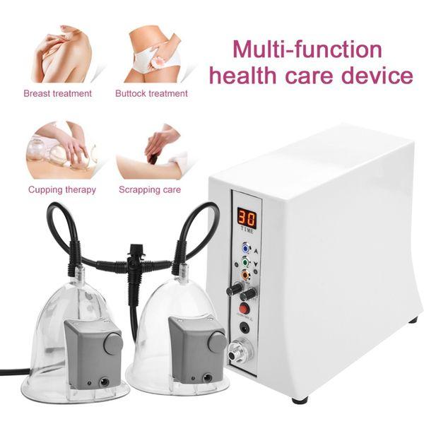 Машина для увеличения груди с 3шт вакуумным роликом для подъема сосков Портативный для домашнего использования
