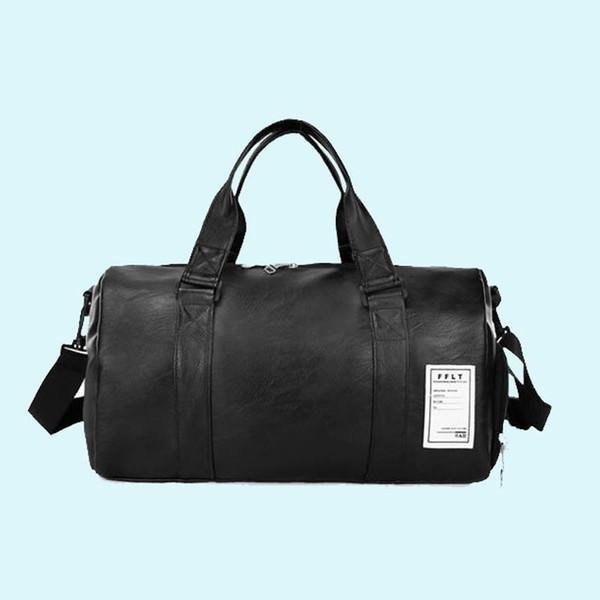 Sacchetto dell'unità di elaborazione viaggio nuovo modo di qualità paio pelle Borse da viaggio bagaglio a mano per uomini e donne Duffle Bag 2018
