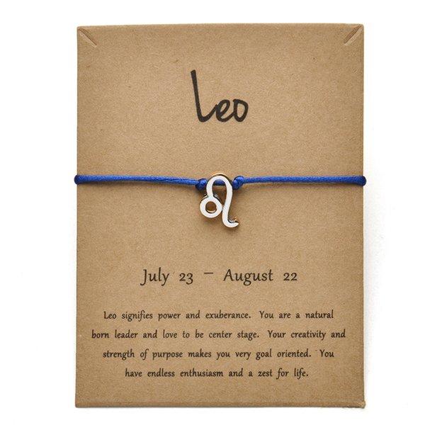 Tarjeta azul plata Leo-Gold