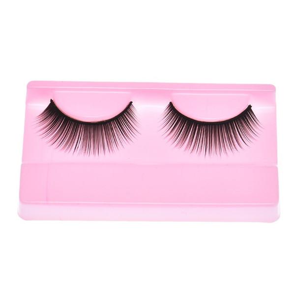 Natural Beauty Dense A Pair False Eyelashes magnetic eyelashes natural hair mink maquiagem #05