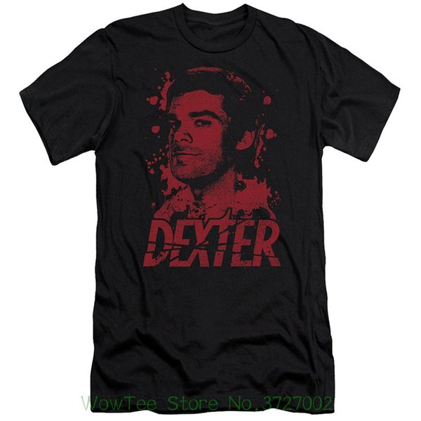 Dexter Horror Crime Drama Television Series Born In Blood Adult Slim T-shirt Tee Original Tops Novelty