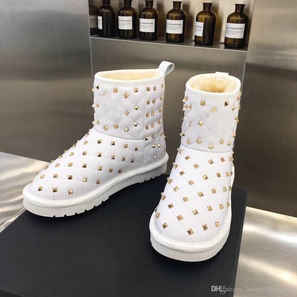 Plate-forme chaussures ongles mode sandales hommes / femmes vente chaude en cuir véritable cheville Bottes blanc / noir design Livraison gratuite