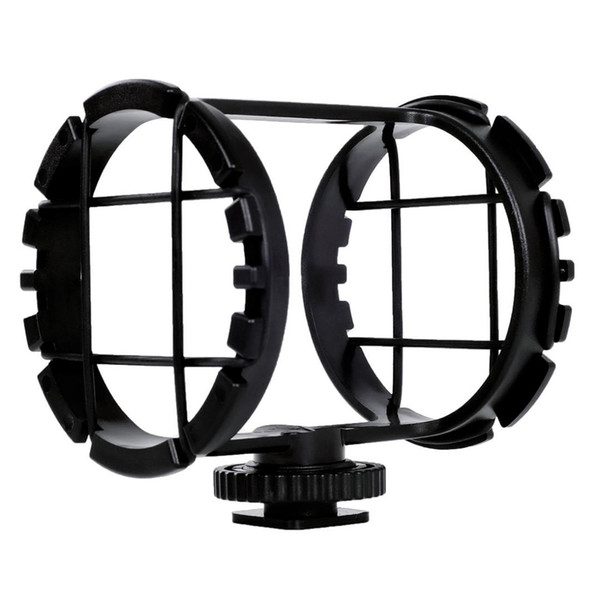"""BOYA BY-C03 Camera Shoe Shockmount for miniphones 1"""" to 2"""" in Diameter (Fits the Zoom H1)"""
