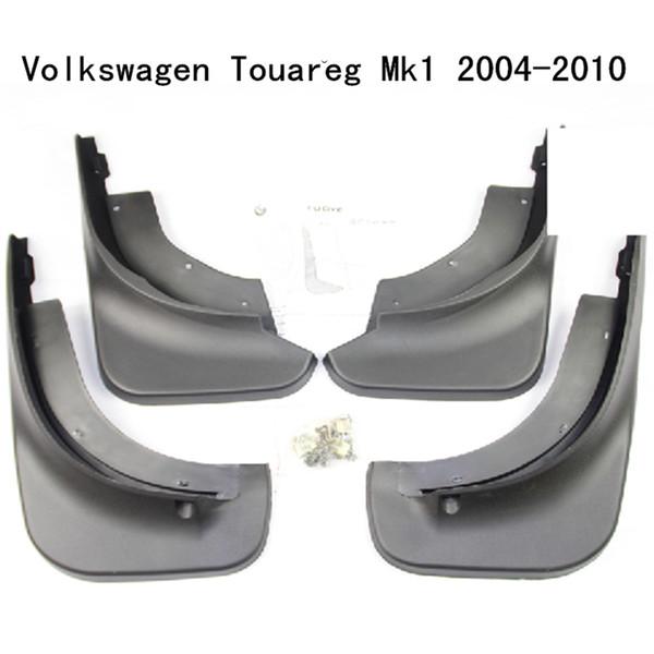 Vw touareg 2008-2010 bavettes gardes protéger ensemble de quatre avant et arrière