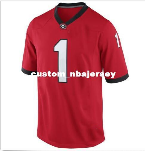 Cheap wholesale Georgia Bulldogs Football Jersey New!!!! Sewing custom any number name football jersey