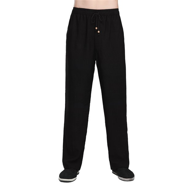 Shanghai Story Chinese Traditional Clothing tai chi Pants Men KungFu pants kung fu taiji clothing 3 Color