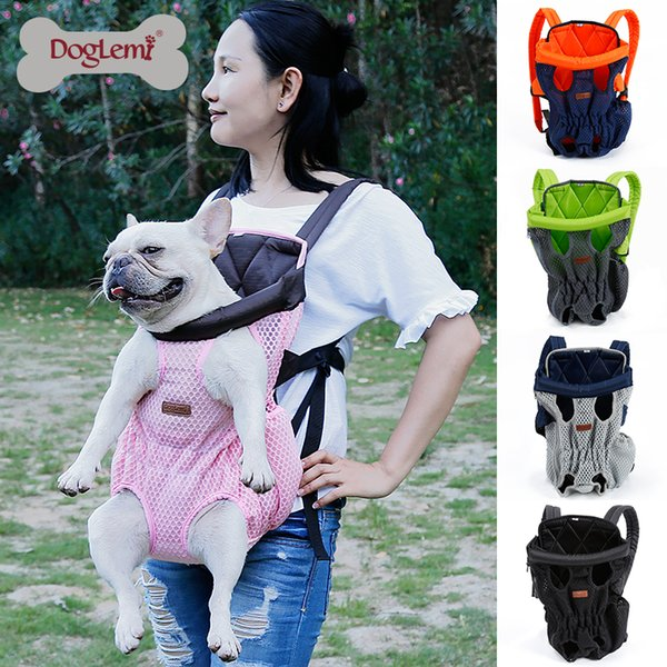 Pet dog carrying backpack travel Shoulder large Bags carrier Front Chest Holder for puppy Chihuahua Pet Dogs Cat accessories #FS D19011201