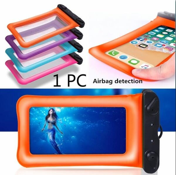 uk availability c1bef 0cc52 2019 Newest Airbag Floating Inflatable Summer Touch Screen Waterproof Pouch  Swimming Beach Dry Bag Case Cover Holder For Cell Phone From ...