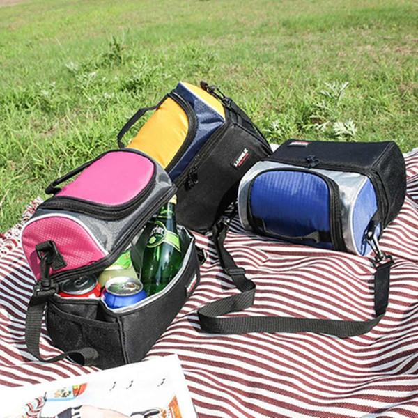 Le scatole impermeabili isolate di picnic del sacchetto del pranzo 600D inscatolano la famiglia portatile della borsa del pranzo 6.7L Tengono i casi caldi di stoccaggio della frutta