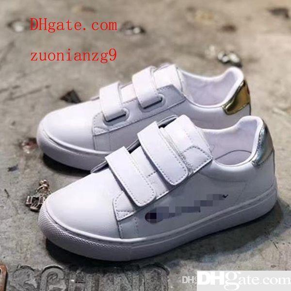 521cd0b2ebf ... invierno zapatos de tacón alto color azul. Zapatillas de deporte de  moda para niños pequeños Zapatillas de deporte de cuero genuino para niños