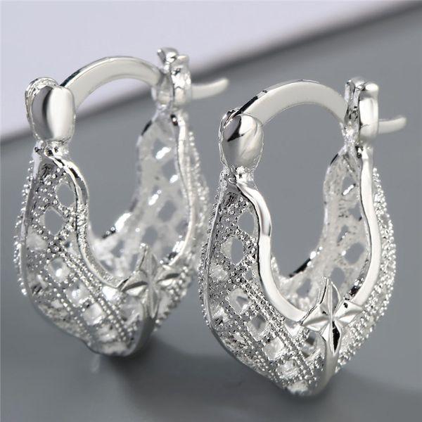 all'ingrosso a buon mercato produttore europeo americano orecchini orecchini donne moda nuovo marchio libero designer di gioielli regalo perfetto stella rosa