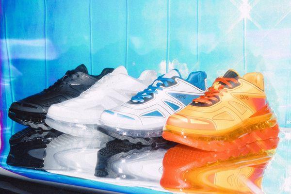 Designer von Triple S führt Linie der erhöhten Sneakers Schuhe 53045 ein 2019 New Style Triple-S Männer Frauen Leder Freizeitschuhe