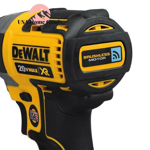 dewalt brushless impact driver tool only