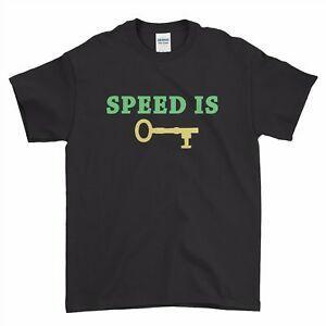 JaDesignsepticeye JaDesign Septic Eye Speed ist der Schlüssel Jungen Männer T-Shirt Top Tee