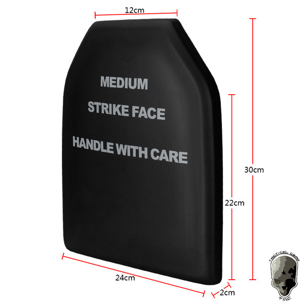Ballistic Dummy Plate Set 9'' x 12'' Carrier Accessory Panels Set For AVS JPC Tactical Hunting Vest Body Armor Black
