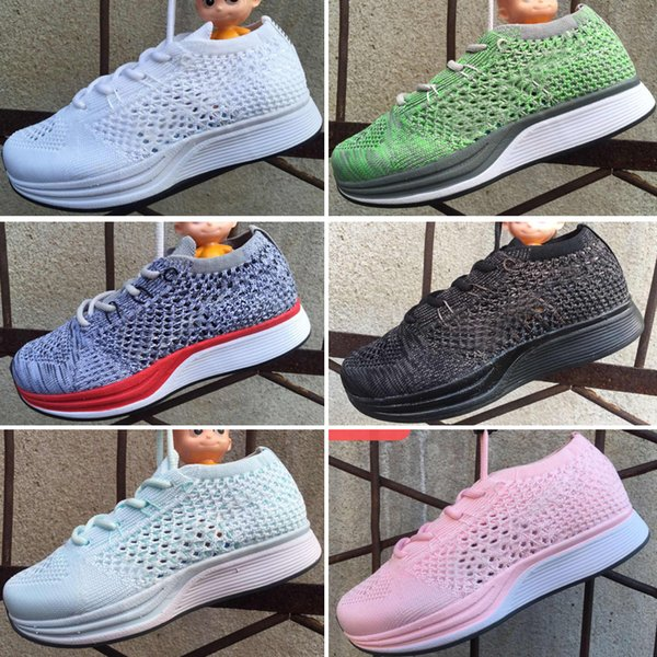 Acquista Nike Air Zoom Mariah Flyknit Racer 2019 Air Zoom Mariah Racer Scarpe Da Corsa Bambini Scarpe Da Ginnastica Flywire Racer 2.0 Baby Boy E Girl