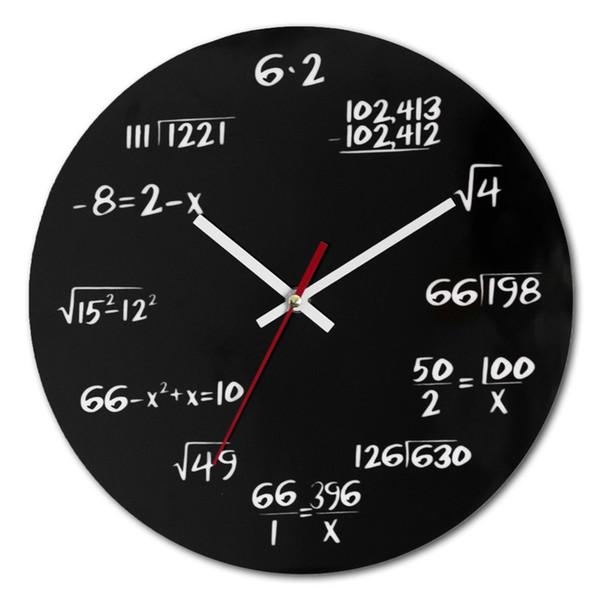 Número Circular Branco Preto Relógio De Parede Arborizado Restauração Antigas Maneiras Quarto Sala de Estar Simples Decorar Relógios De Parede 25nsD1