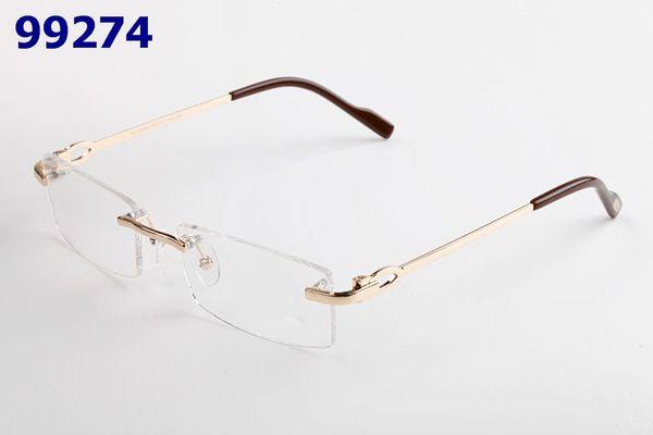 5680fd0075db Fashion Spectacles Optical Glasses Frame Rimless Eyeglasses For Men Women  Prescription Ultralight Frame With Original Box