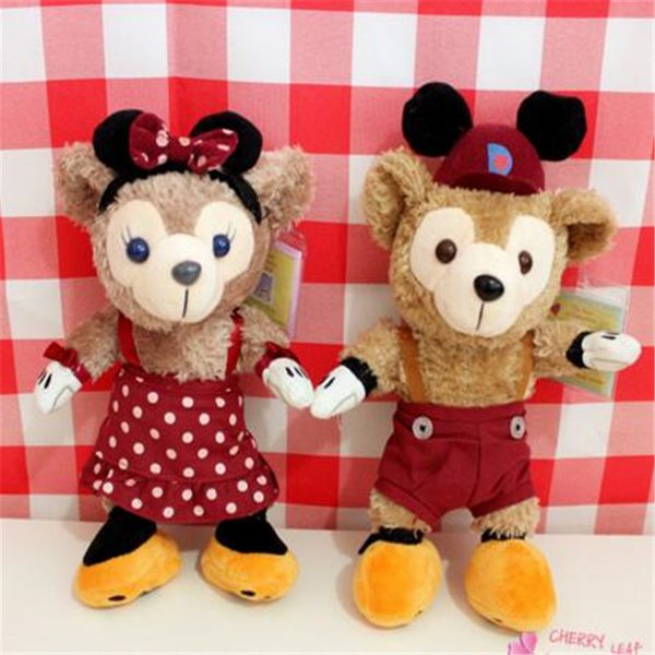 Cute Stuffed Animal Bear Japan Duffy Halloween Bear Sydney Pear Cute Plush Toys Size Doll Gift Kids Toys