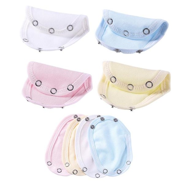 Cute Baby Infant Romper Partner Extend Pad Kids Diaper Mat Boys Girls Jumpsuit Bodysuit Lengthen Extend Film 4 Color