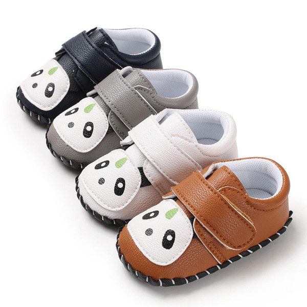 Toddler Infant Baby Kid Boys Girl Shoes Cute Panda Shoes Soft Sole Crib Casual Sneaker baby boy for 1 year old