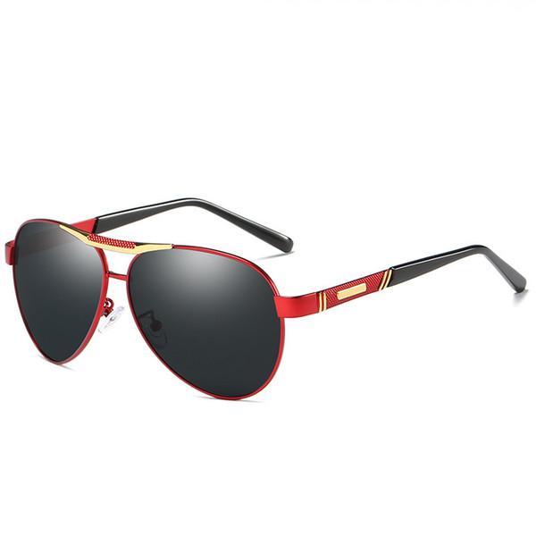 Gafas de sol de diseñador con luz polarizada para hombres y mujeres Gafas graduadas de Blue Money Money Go Ir a espejo de pesca Gafas de sol al aire libre