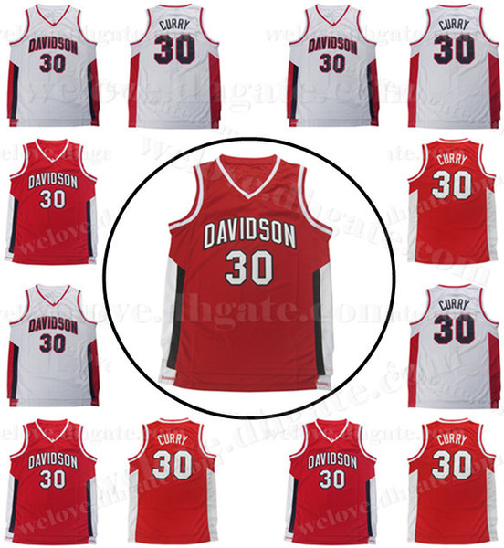 best service 39b3e f1b8e 2019 Men'S NCAA 30 Steph Curry Jersey Davidson College Wildcat Sewn  Basketball Jerseys Cheap Wholesale From Welove_jersey, $19.59 | DHgate.Com