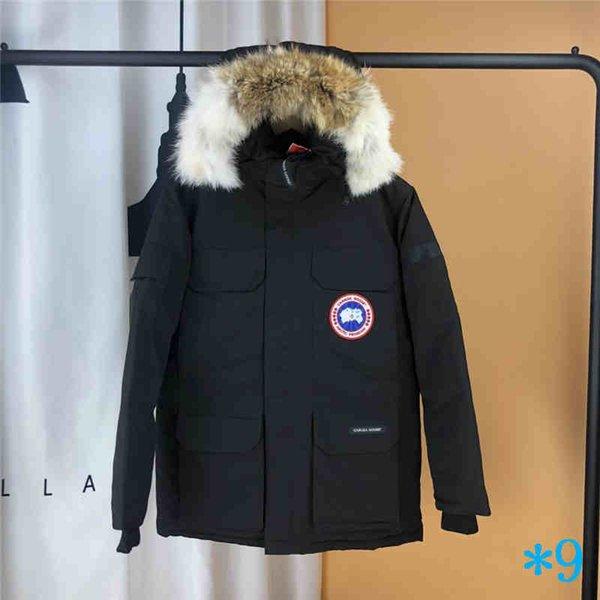 Women Trillium Femme Outdoors Fur Down Jacket Hiver Thick Warm Windproof Goose Down Coat Thicken Fourrure Hooded Jacket Manteaus Doudoune#9