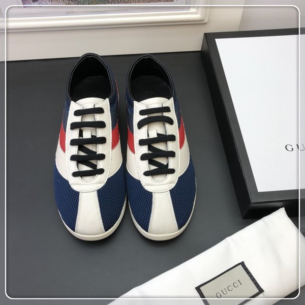 VENDITA CALDA Paris Luxury Mens Casual Shoes Vera pelle Triple Yellow High Top Trainer Uomo Fashion Designer Leisure Sneaker con scatola b106