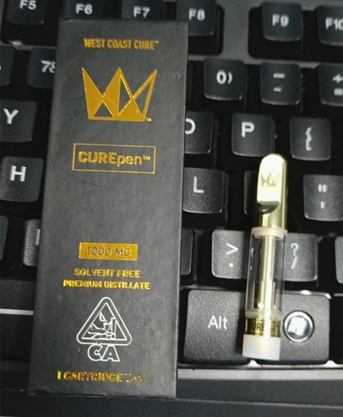 West Coast Cure Pen Packaging Package 11 Flavors In Stock With 0 8ml