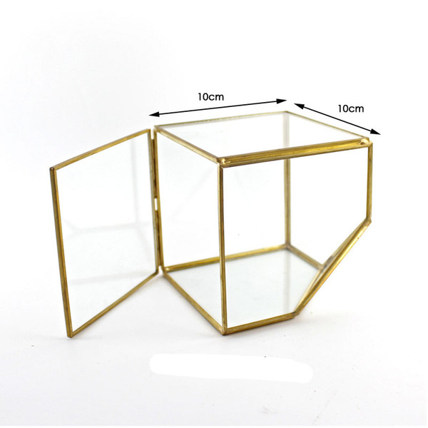 10x10 Gold with lid