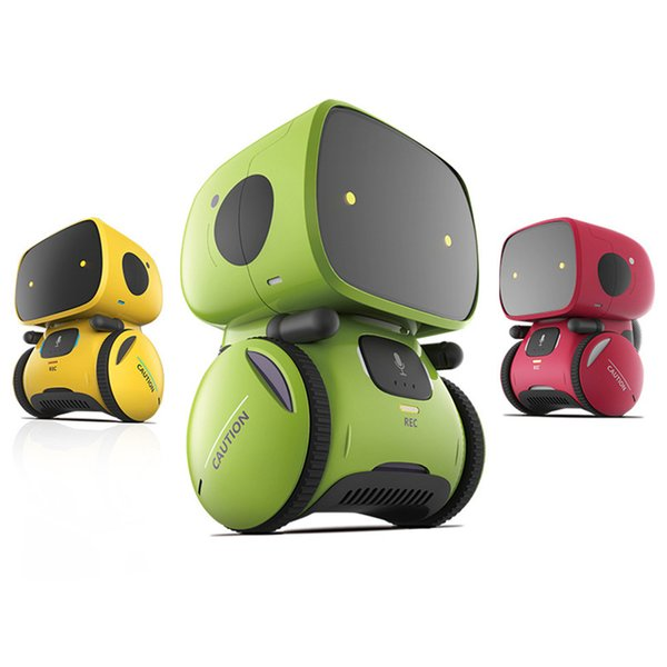 2019 Interactive Toy Smart Robot Sensitive Intelligent Toy for Kids with Dialog Recording and Touch Control Function
