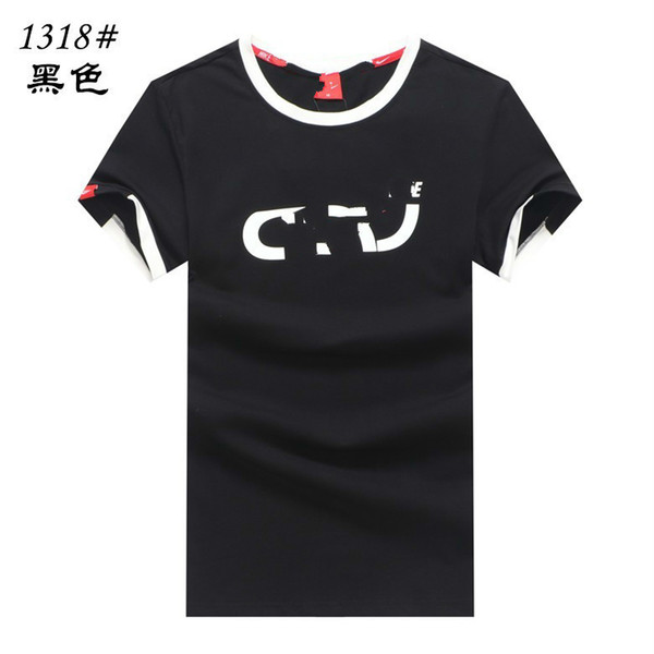 Men's casual 2019 fashion classic summer new organic cotton loose long T-shirt Recommendnew
