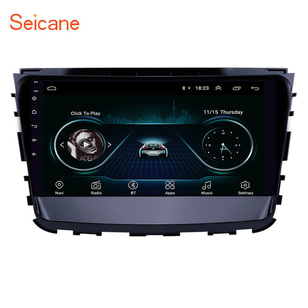 Autoradio da 10,1 pollici Android 8.1 HD Touchscreen Navigazione GPS per Ssang Yong Rexton 2019 con supporto Bluetooth WIFI AUX Carplay Mirror Link