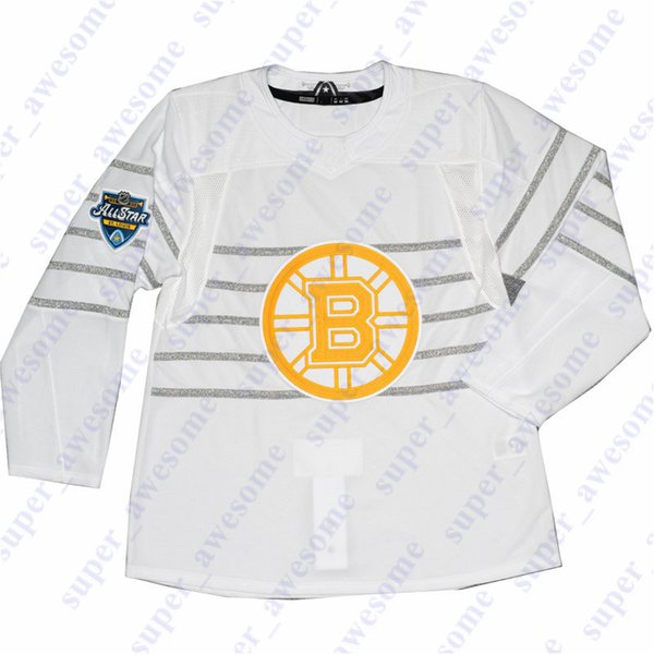 Boston Bruins White.