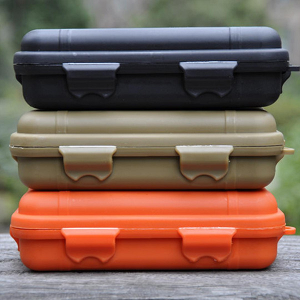 1pcs Outdoor Shockproof Waterproof Plastic Box Storage Case Airtight Carry Camping Tackle Tool Container