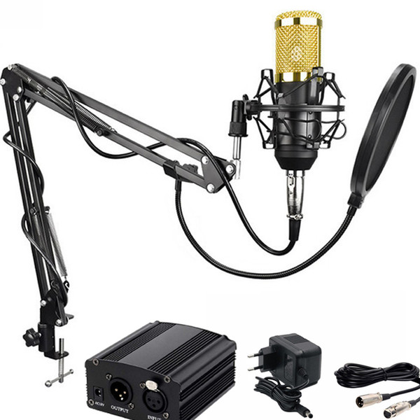 New professional condenser microphone, suitable for mb800 computer recording studio recording microphone KTV, live recording equipment