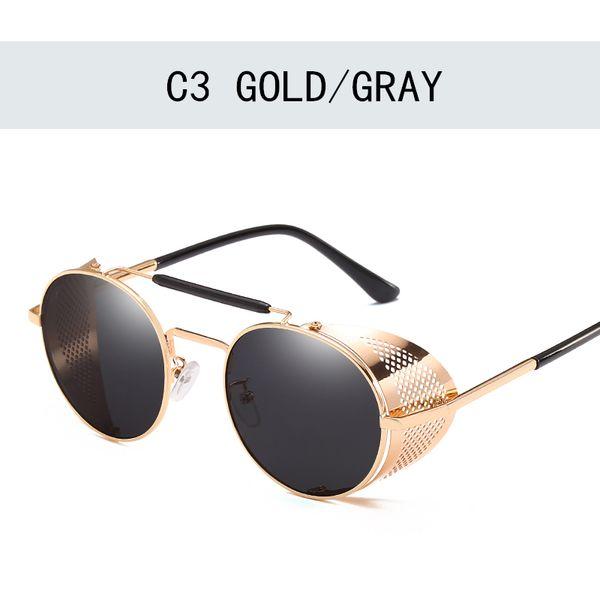 Gold Grau